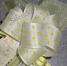 Antenne-lint-geel - Groot (Afbeelding)